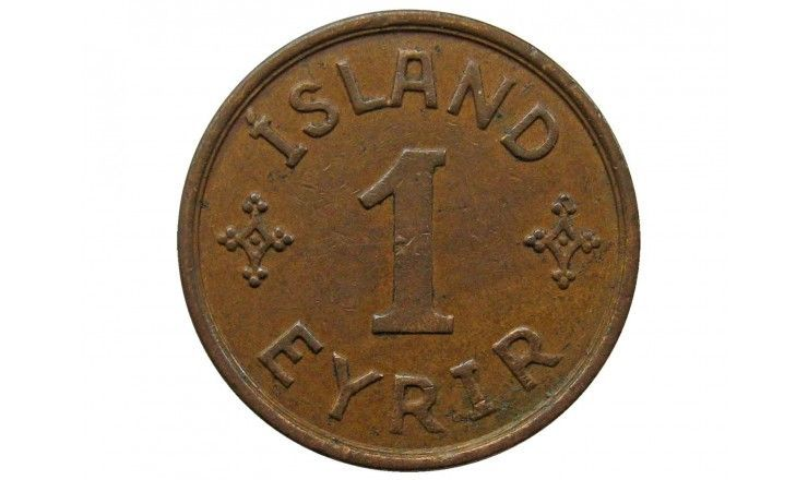Исландия 1 аурар 1939 г.