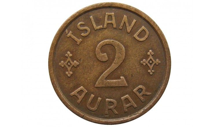 Исландия 2 аурар 1931 г.