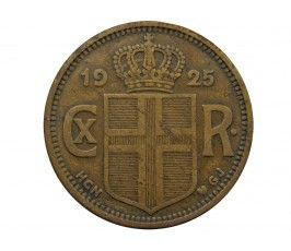 Исландия 2 кроны 1925 г.
