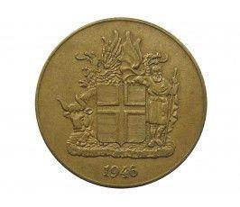 Исландия 2 кроны 1946 г.