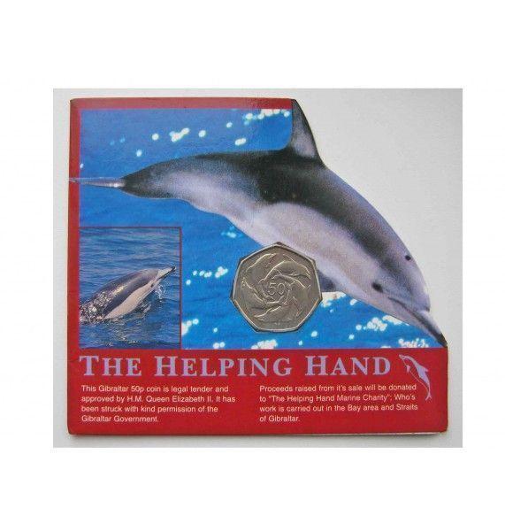 Гибралтар 50 пенсов 1997 г. буклет