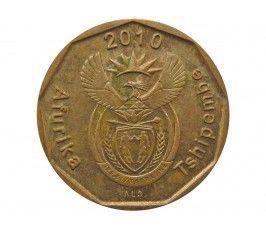 Южная Африка 10 центов 2010 г.