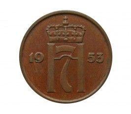 Норвегия 2 эре 1953 г.
