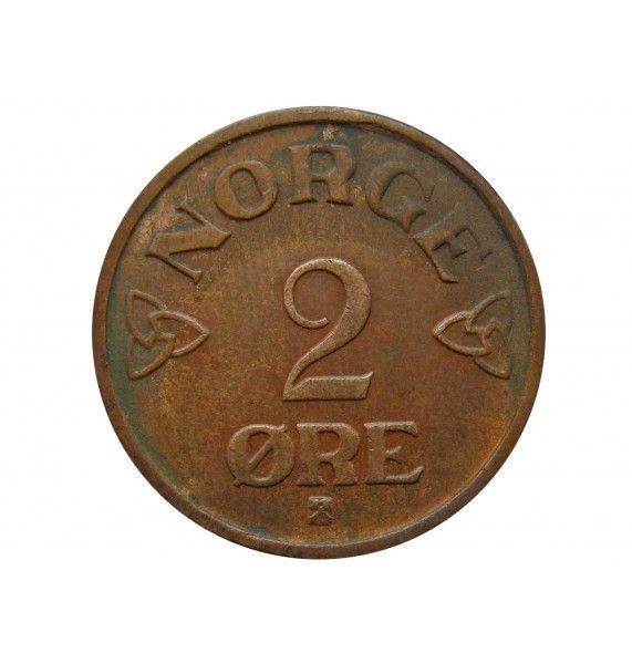 Норвегия 2 эре 1954 г.