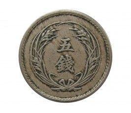 Япония 5 сен 1901 г. (Yr. 34)