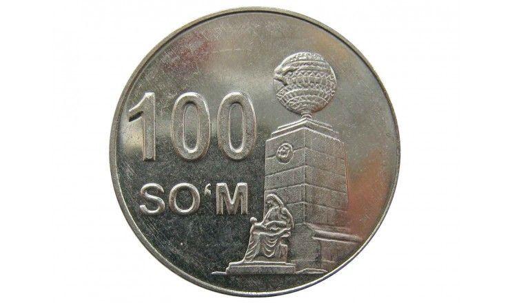 Узбекистан 100 сом 2018 г.