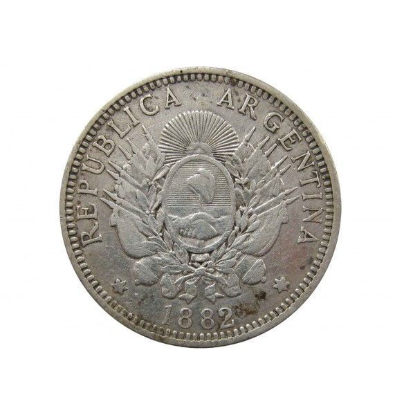 Аргентина 50 сентаво 1882 г.