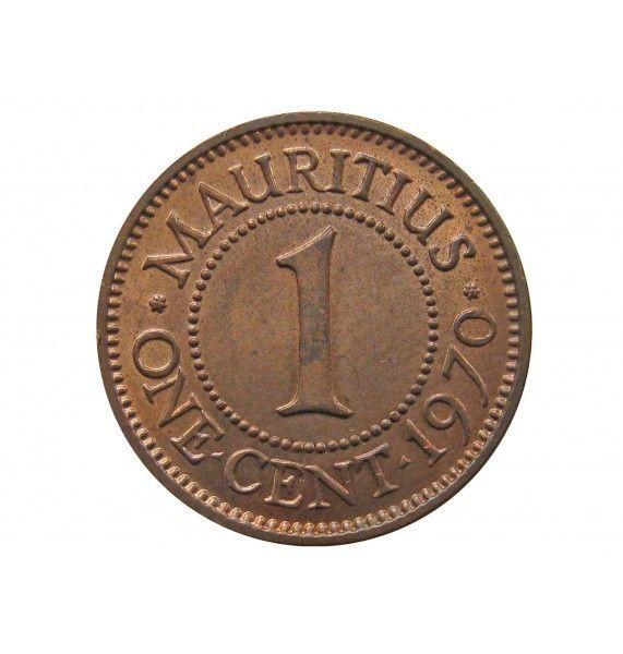 Маврикий 1 цент 1970 г.