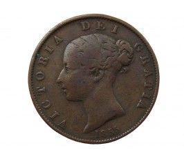 Великобритания 1/2 пенни 1855 г.