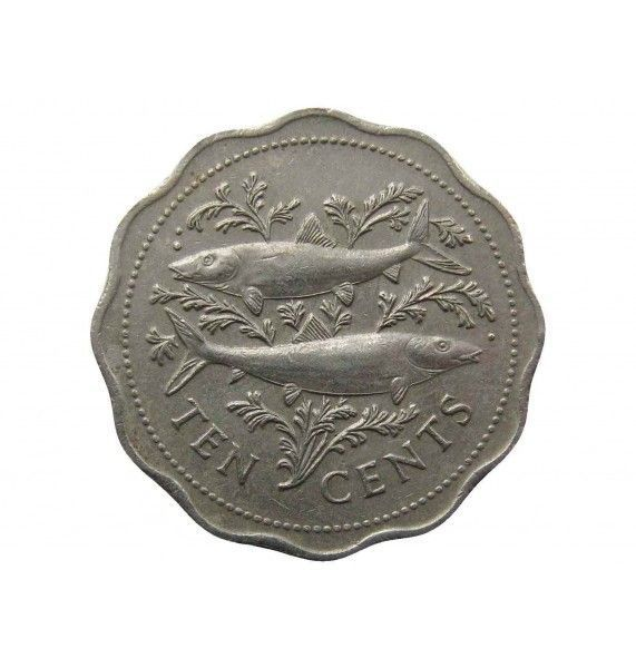 Багамы 10 центов 1987 г.