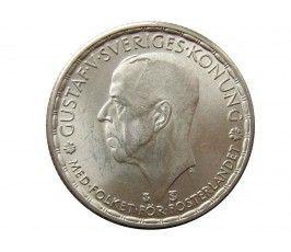 Швеция 1 крона 1950 г.