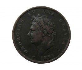 Великобритания 1 пенни 1826 г.
