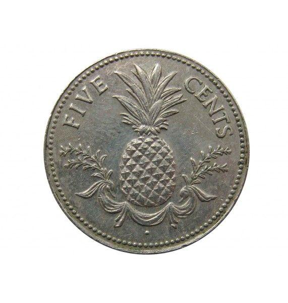 Багамы 5 центов 1981 г.