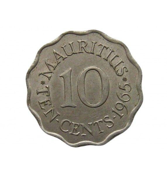 Маврикий 10 центов 1965 г.