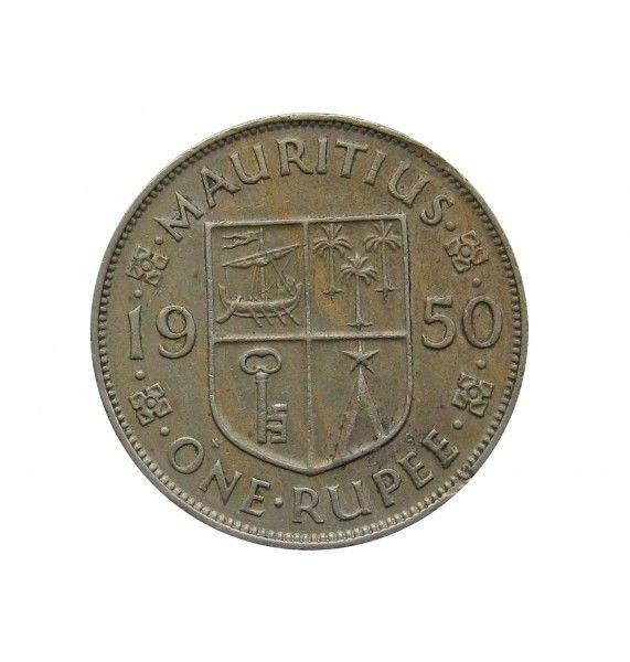 Маврикий 1 рупия 1950 г.
