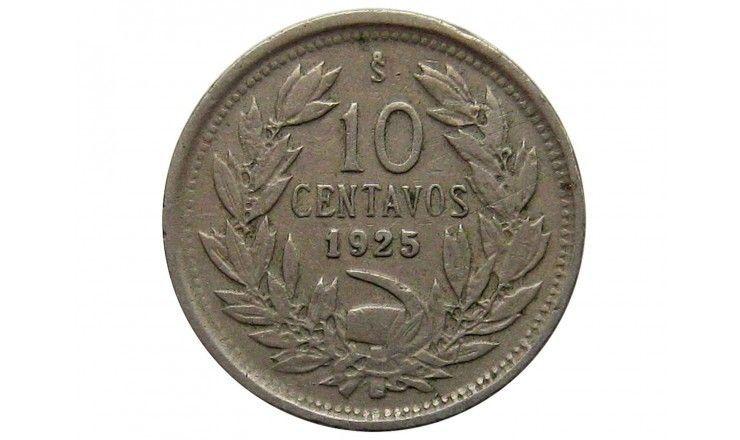 Чили 10 сентаво 1925 г.