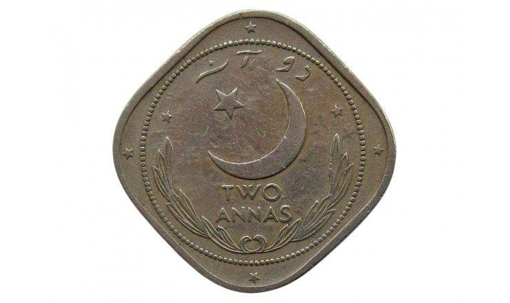 Пакистан 2 анны 1950 г.