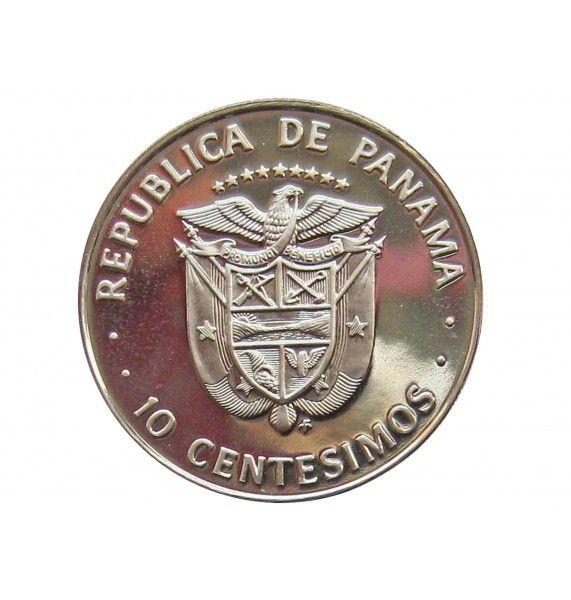 Панама 10 сентесимо 1975 г. (Proof)