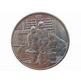Россия 25 рублей 2020 г. (Самоотверженный труд медицинских работников)