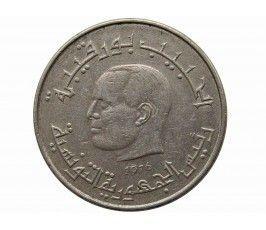 Тунис 1/2 динара 1976 г.