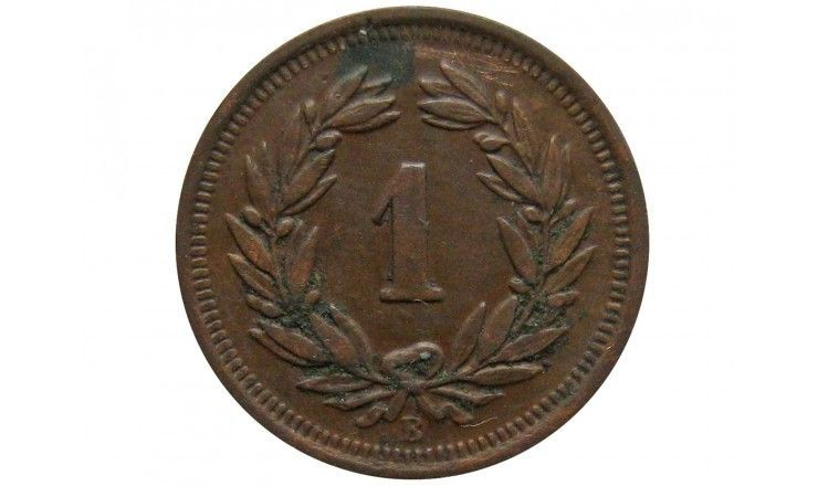 Швейцария 1 раппен 1921 г.