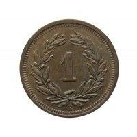 Швейцария 1 раппен 1928 г.