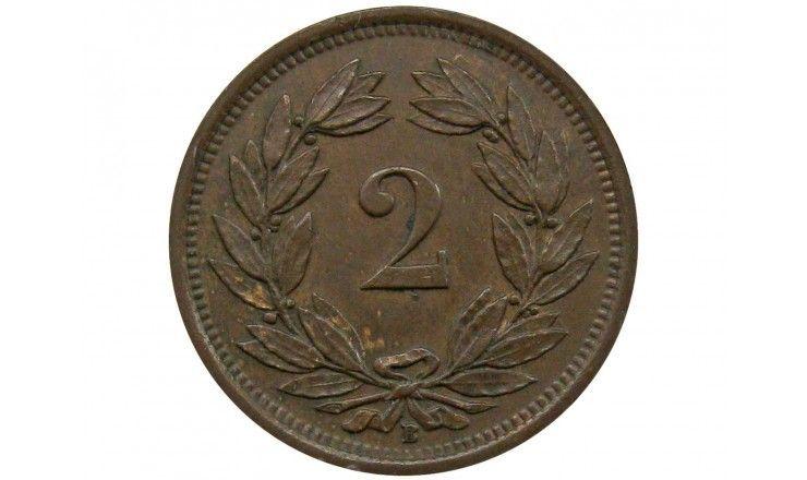 Швейцария 2 раппена 1932 г.