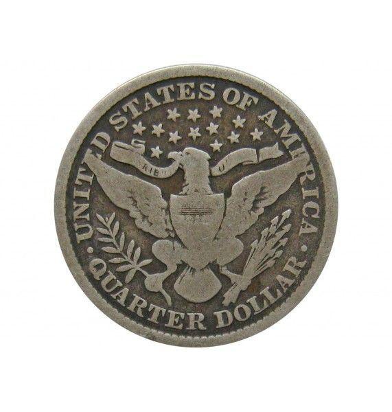 США квотер (25 центов) 1897 г.