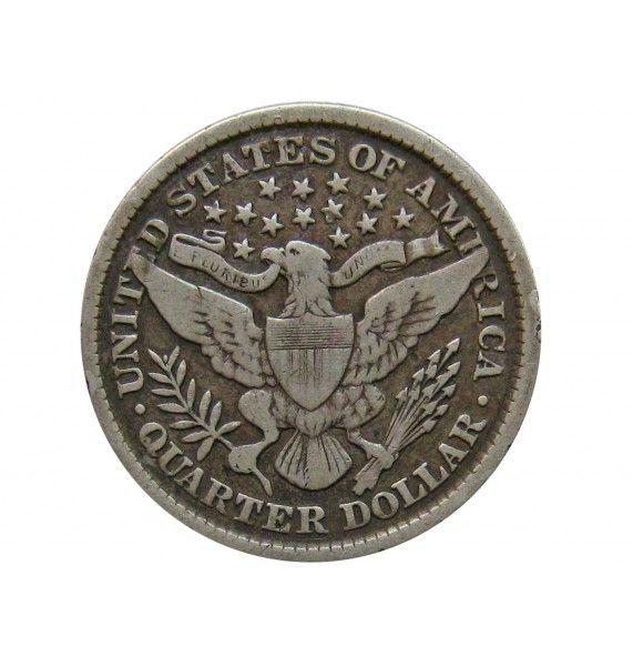 США квотер (25 центов) 1898 г.