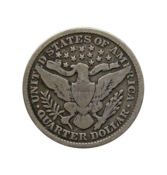 США квотер (25 центов) 1899 г.