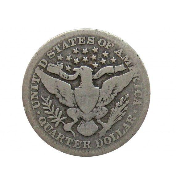 США квотер (25 центов) 1900 г.