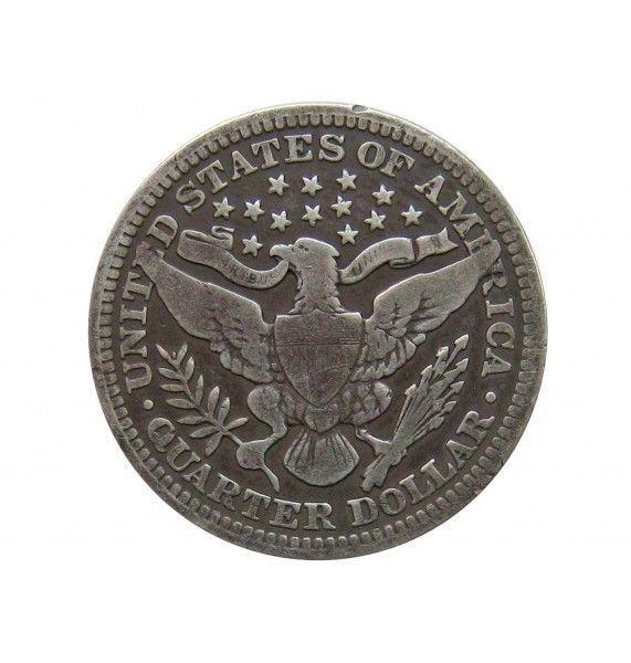 США квотер (25 центов) 1910 г.