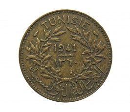 Тунис 1 франк 1941 г.