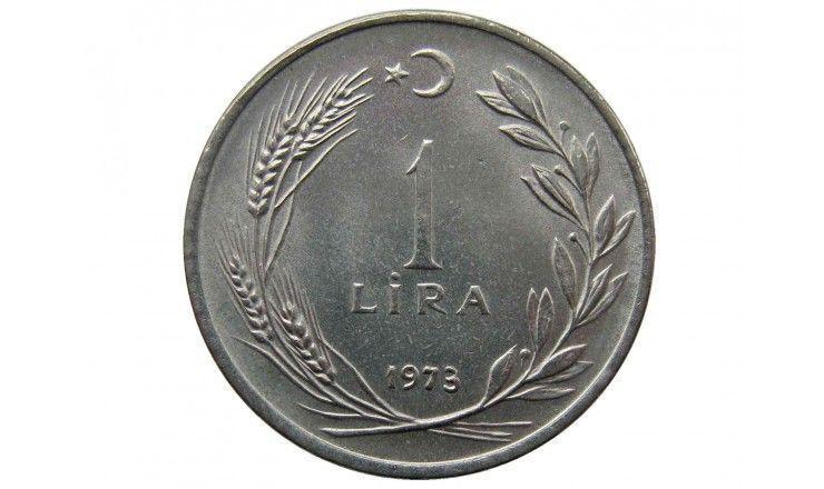 Турция 1 лира 1973 г.