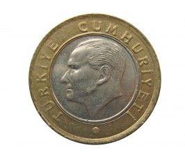 Турция 1 лира 2009 г.