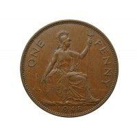 Великобритания 1 пенни 1948 г.