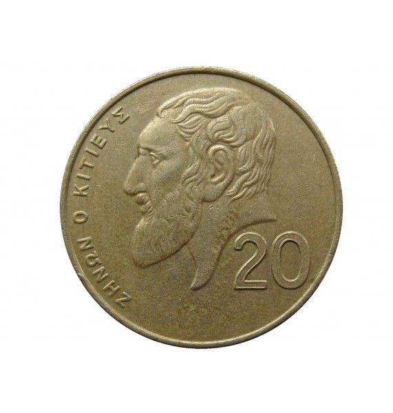 Кипр 20 центов 1994 г.