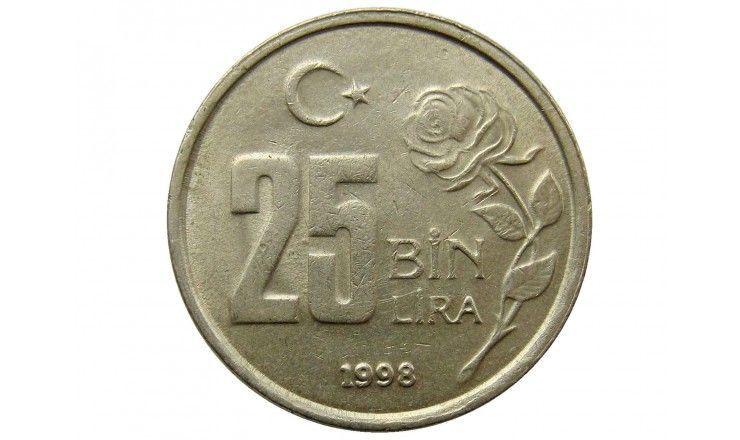 Турция 25 000 лир 1998 г.