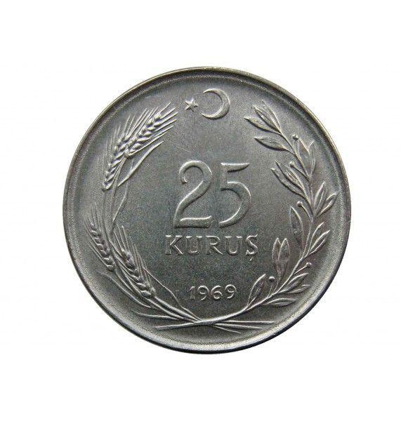Турция 25 куруш 1969 г.
