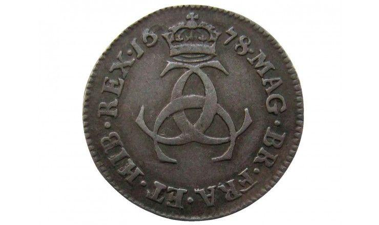 Великобритания 3 пенса 1678 г.