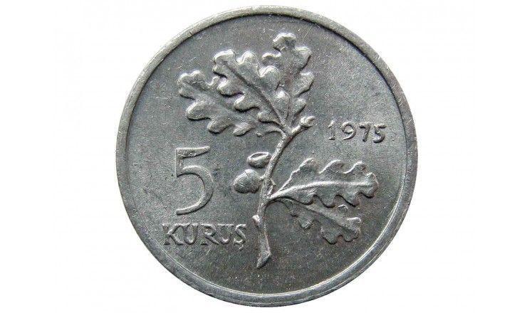 Турция 5 куруш 1975 г. (Планирование семьи)