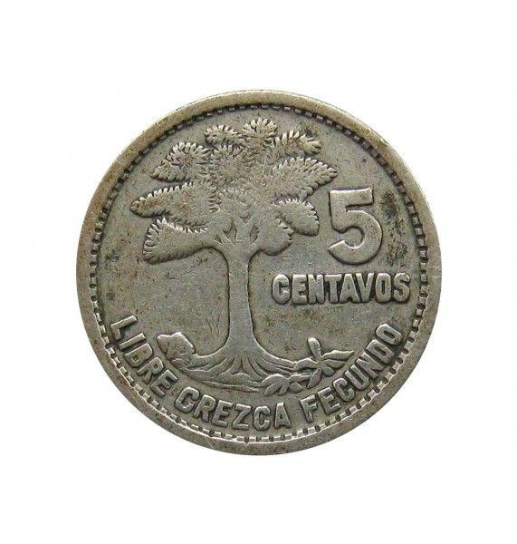 Гватемала 5 сентаво 1951 г.