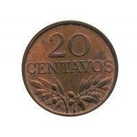 Португалия 20 сентаво 1970 г.