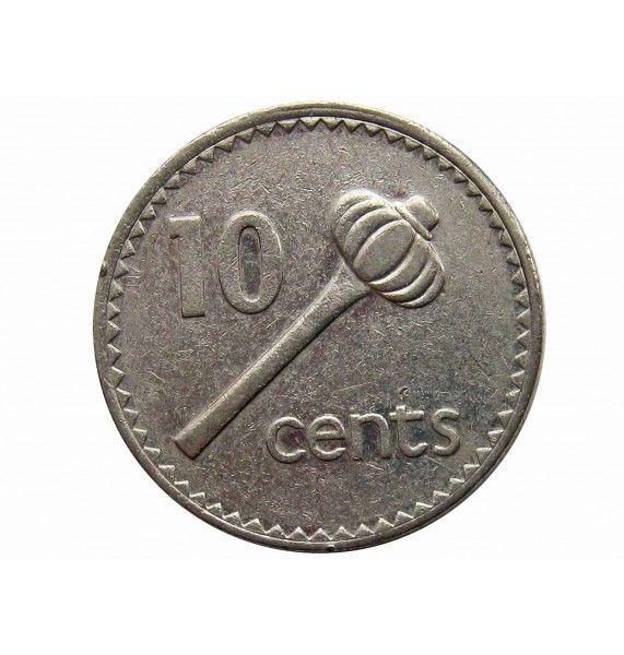 Фиджи 10 центов 1992 г.