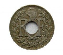 Франция 10 сантимов 1922 г.