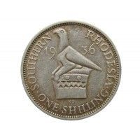 Южная Родезия 1 шиллинг 1936 г.