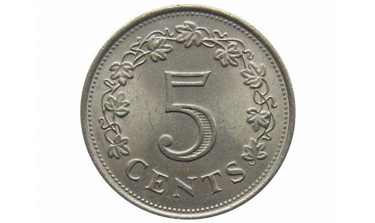 Мальта 5 центов 1977 г.