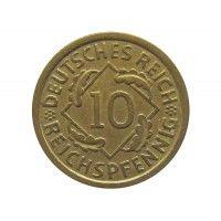 Германия 10 пфеннигов (reichs) 1935 г. A