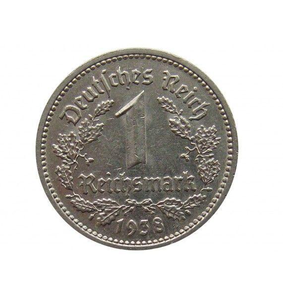 Германия 1 марка 1938 г. F