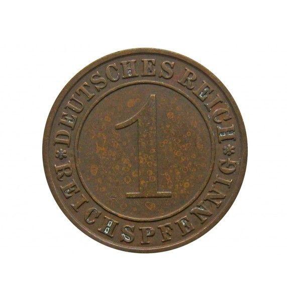 Германия 1 пфенниг (reichs) 1928 г. A